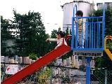 島田市 向島町第二公会堂子供の遊び場