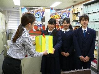H23.11.24 安東中学校 生徒会