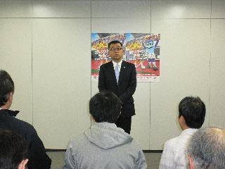三菱電機 総務部長 徳江様