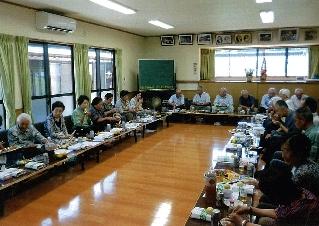 H23 川根本町 沢間区自治会つり橋会 (3)