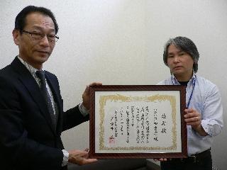 25.3.19戸田書店 感謝状贈呈 (1)