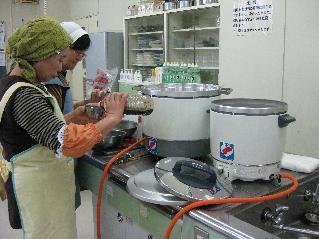 H24 松崎町 ひまわり会 共募助成ガス炊飯器2