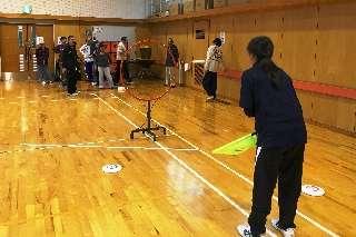 H27 静岡市 しずおか障がい者フライングディスク協会 (1)