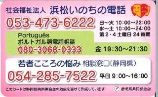 H28 使途 浜松いのちの電話2