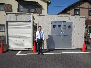 H28 災害 静岡県ボランティア協会 防災倉庫一式�@