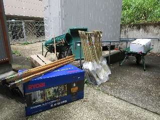 H28 災害V資機材 ボランティア協会 倉庫入口